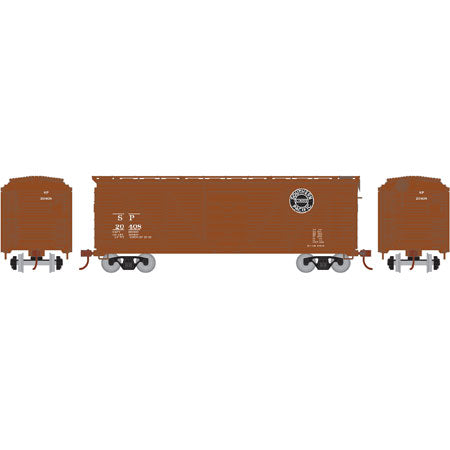 Athearn RND85724 HO Southern Pacific 40' Single Sheathed Box #20408