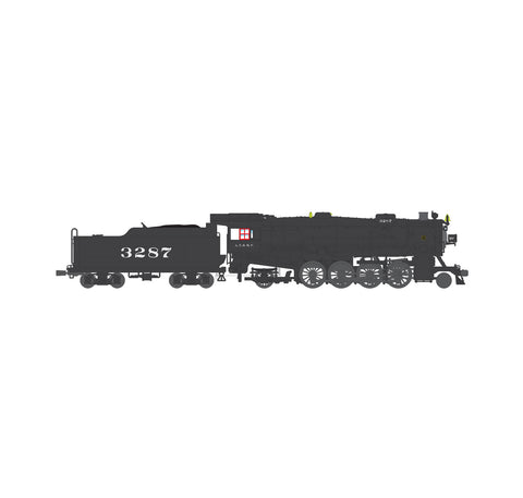 Broadway Limited 4635 HO ATSF USRA Heavy Mikado Paragon3 Sound/DC/DCC #3287