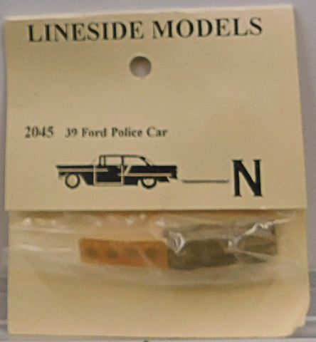 Lineside Models 2045 N 1939 Ford Police Car
