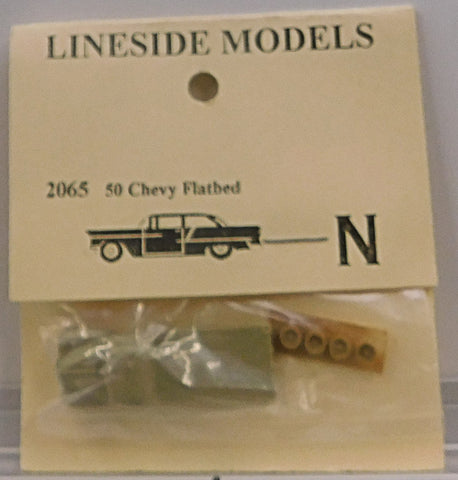 Lineside Models 2065 N 1950 Chevy Flatbed