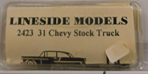 Lineside Models 2423 N 1931 Chevy Stock Truck