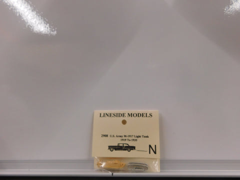 Lineside Models 2908 N U.S. Army M-1917 Light Tank 1919 to 1935