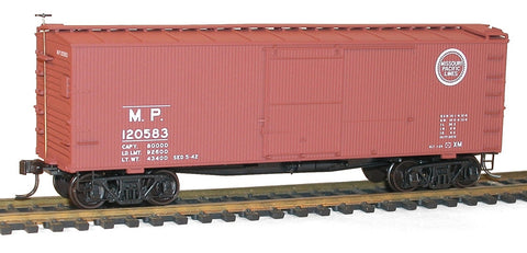 Accurail 1303 HO Missouri Pacific 36' Double Sheathed Box Car Kit #120583