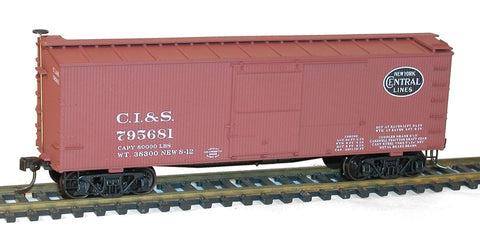 Accurail 80862 HO Chicago, Indiana & Southern 36' Double-Sheathed Wood Boxcar #795681