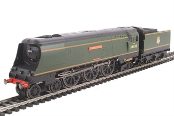 Hornby R3445 OO Scale British Railways Camelford West Country Class BR 4-6-2 #34032