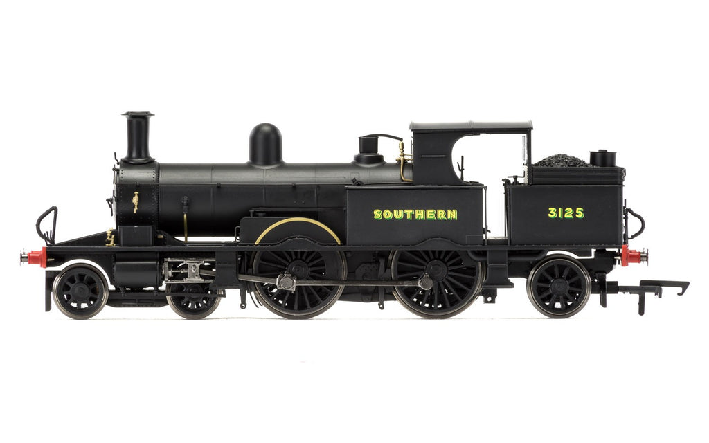Hornby R3422 OO Scale South Western Railway 4-4-2T Adams Radial 415 Class #3125.