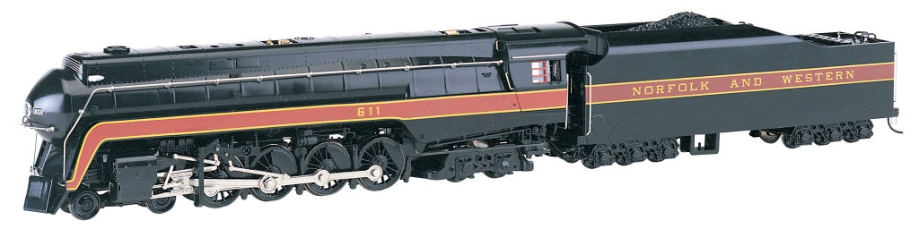 Bachmann 53201 HO Norfolk & Western Class J 4-8-4 with Sound & DCC #611