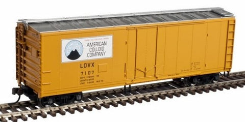 Atlas 50002773 N American Colloid Company 40' Plug-Door Boxcar #7107