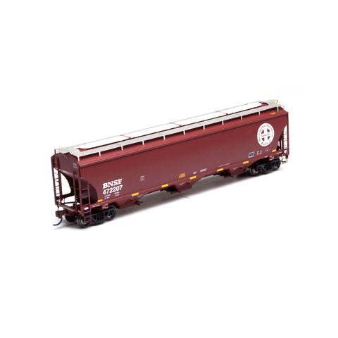 Athearn 89591 HO BNSF Trinity 3-Bay Covered Hopper RTR #472207