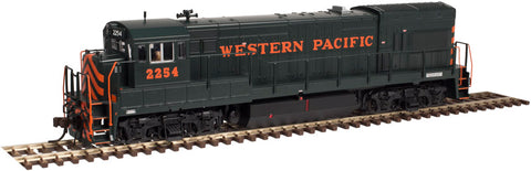 Atlas 10002175 HO Western Pacific U23B Low Nose Locomotive #2265