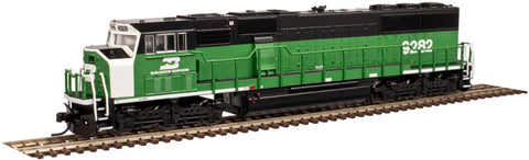Atlas 40002652 N Burlington Northern EMD SD60M Diesel Engine #9277