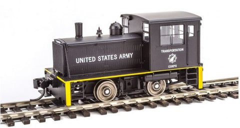 Walthers 910-10006 HO U.S. Army Transportation Corps Plymouth ML-8 Industrial Switcher Steam Engine