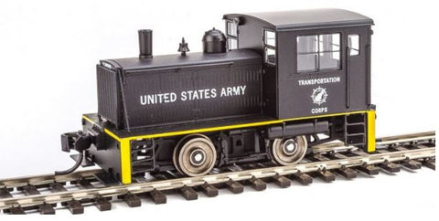 Walthers 910-20006 HO U.S. Army Transportation Corps Plymouth ML-8 Industrial Switcher Steam Engine