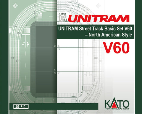 Kato 40810 N North American-Style Unitram Oval Track Set - Unitrack