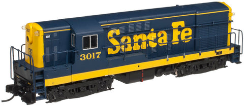 Atlas 40001867 N Santa Fe H16-44 Diesel Locomotive (Late Body) #3010