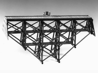 Evergreen Hill 5014 O Ravine Trestle Kit, 115 Feet Long