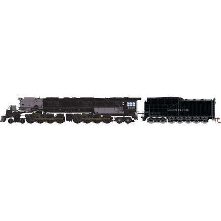 Athearn 22905 N Union Pacific 4-8-8-4 Big Boy with DCC & Sound Coal Tender #4000