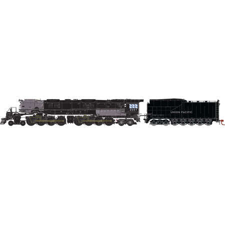 Athearn 22906 N Union Pacific 4-8-8-4 Big Boy with DCC & Sound Coal Tender #4007