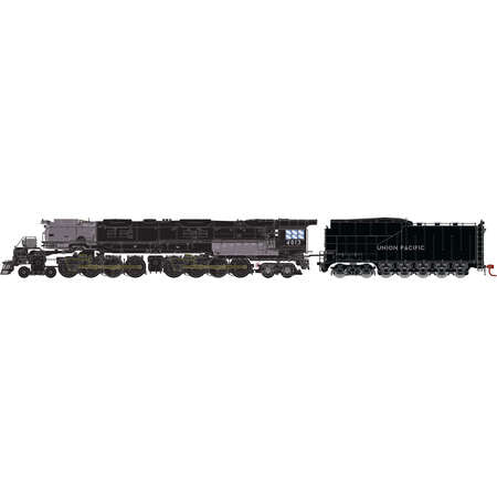 Athearn 22907 N Union Pacific 4-8-8-4 Big Boy with DCC & Sound Coal Tender #4013