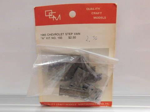 Quality Craft 193 N 1965 Chevrolet Step Van Unpainted Metal kit