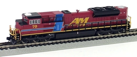 Fox Valley Models 71101 N Arkansas & Missouri EMD SD70ACe Diesel Locomotive #70