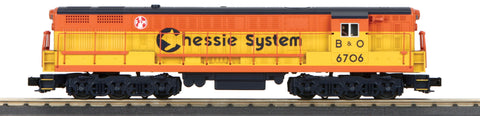 MTH 30-20388-1 O Chessie FM Train Master Diesel Engine with PS 3.0 #6706