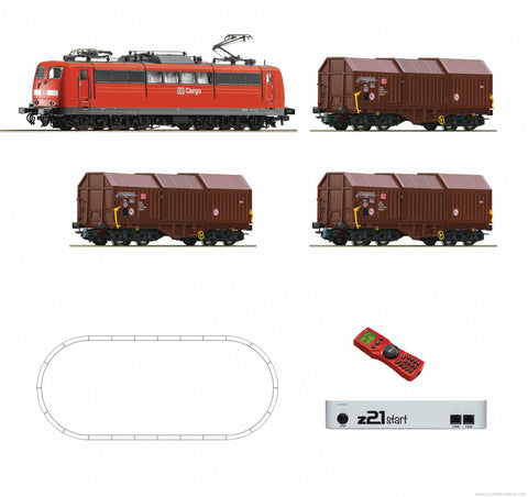 Roco 51293 HO Deutsche Bahn AG Digital Starter Set Z21: Electric Locomotive