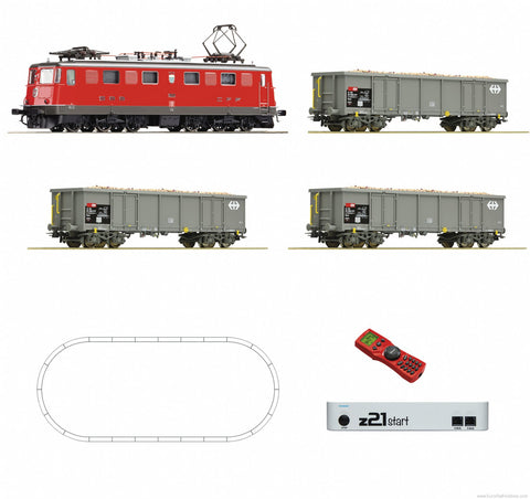 Roco 51296 HO SBB Digital Starter Set Z21: Electric Locomotive