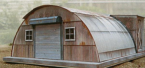 Clever Models 1010 N Quonset Hut House Paper building Kit