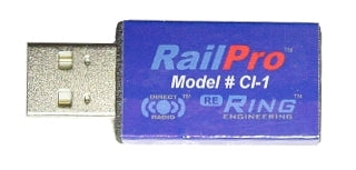 Ring Engineering CI-1 RailPro Computer to Direct Radio Interface (USB-A Plug)