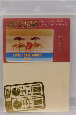 Shire Scenes SN42 N Pub/Café Tables (2)
