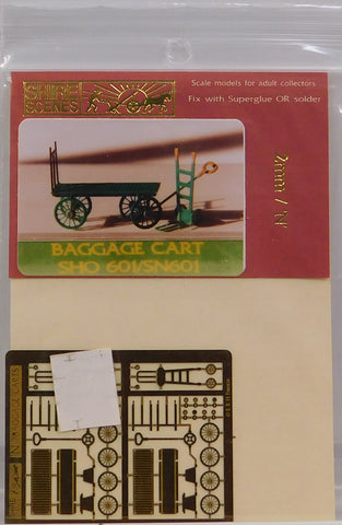 Shire Scenes SN601 N Baggage Cart Kit