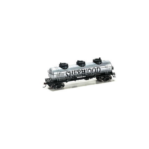 Roundhouse 74497 HO Sherwood 3-Dome Tank Car #4550