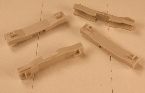 Rail Power 124 HO Container Braces for Athearn Impact Cars (Pack of 4)