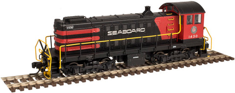 Atlas 40002929 N Seaboard Air Line S-2 Locomotive Gold (Black/Red) #1403