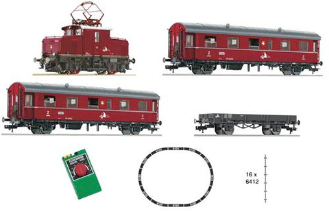 Fleischmann 481702 HO Swiss Rack & Pinion Railway Analogue Starter Set III
