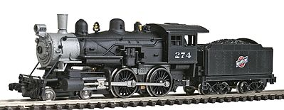 Model Power 87625 N Chicago & North Western Steam 4-4-0 American