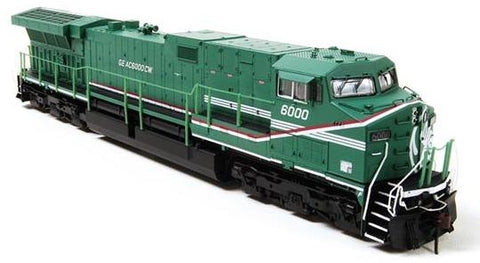 "Broadway Limited 3428 N GE Demo GE AC6000 ""Green Machine"" #6000"