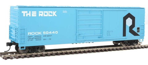Walthers 910-1931 HO Rock Island 50' Evans Smooth-Side Boxcar - Ready to Run #50440