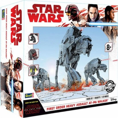 Revell 85-1649 1:164 Star Wars™  First Order Heavy Assault AT-M6 Walker™