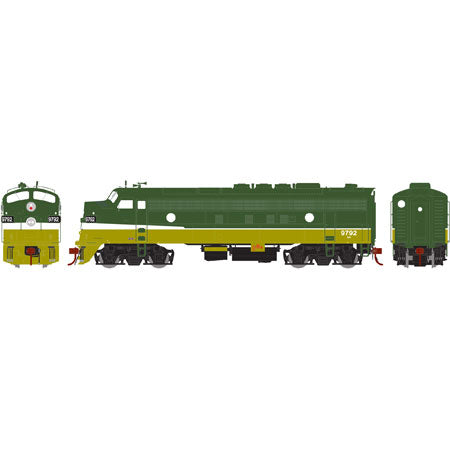Athearn G22717 HO Burlington Northern/Passenger FP7A #9792