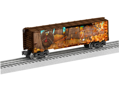 Lionel 6-83800 O Happy Thanksgiving Boxcar
