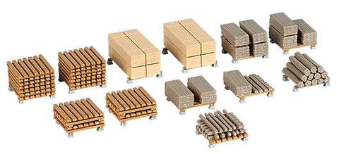 Kibri 38607 1:87 Stacked Lumber - Plastic Model Kit