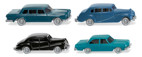 Wiking 091404 N Classic Cars (Set of 4)