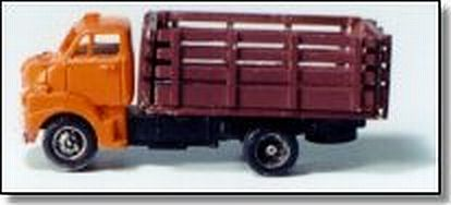 Showcase Miniatures 12 1:160 N 1952 GMC COE Stake Bed Truck Unpainted Metal Kit