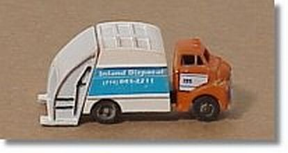 Showcase Miniatures 36 N Refuse Truck Unpainted Metal Kit