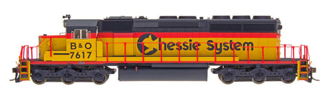 InterMountain 69347 N Chessie System SD40-2 Locomotives