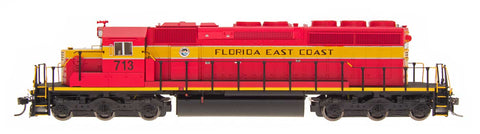 InterMountain 69349S N Florida East Coast SD40-2 Locomotives with DCC & Sound