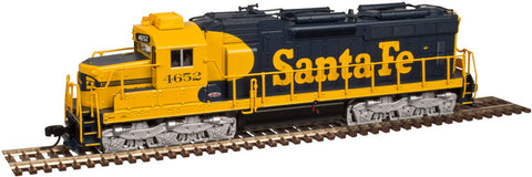 Atlas 40002891 N Santa Fe SD-26 Locomotive (with 1-piece Windshield) with DCC #4652