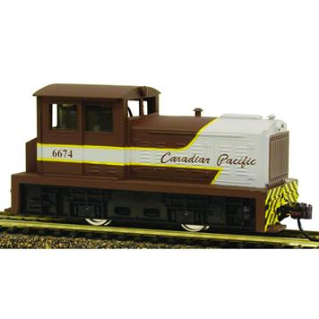 Model Power 966741 HO Canadian Pacific DDT Plymouth Diesel Locomotive DCC